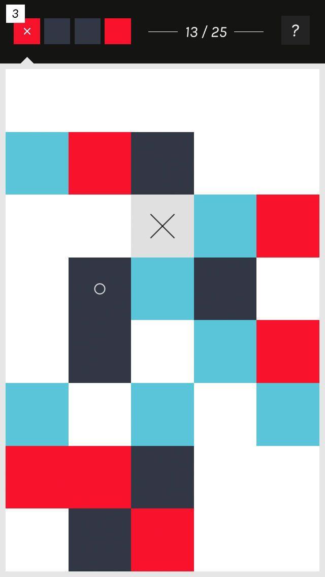Folt - シンプル&オシャレなデザインの色合わせパズルゲーム。脳トレ&暇つぶしにベストチョイスかも!? - おすすめiPhoneアプリ - Boom App