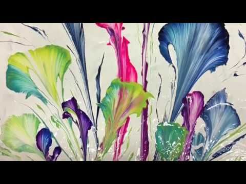 "Flow og ""string"" blomster"