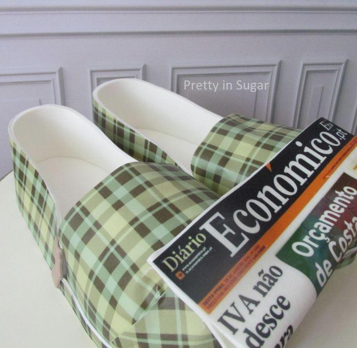 Slippers | Newspaper