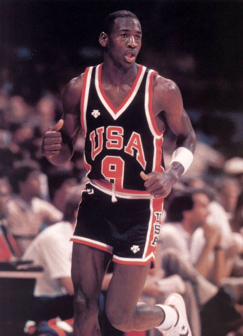 Michael Jordan at the 1984 Olympics