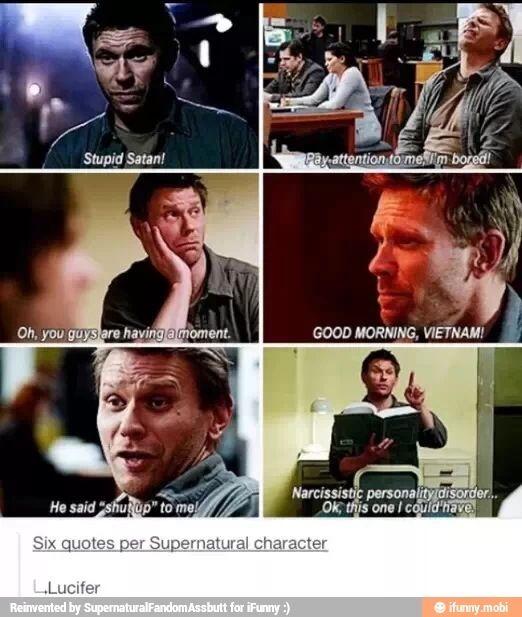 Sam's insanity Lucifer