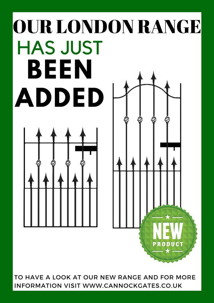 Have a look at our new London Range! (Is available as a Garden Gate, Driveway Gate, Side Gate and Railing)  -> http://www.cannockgates.co.uk/shop/cat/wrought-iron-gates/  #NewRange #CannockGates #WroughtIronGates #MONDAYMOTIVATION #GARDENGATE #GARDENGATES #GARDEN #GATE #ART