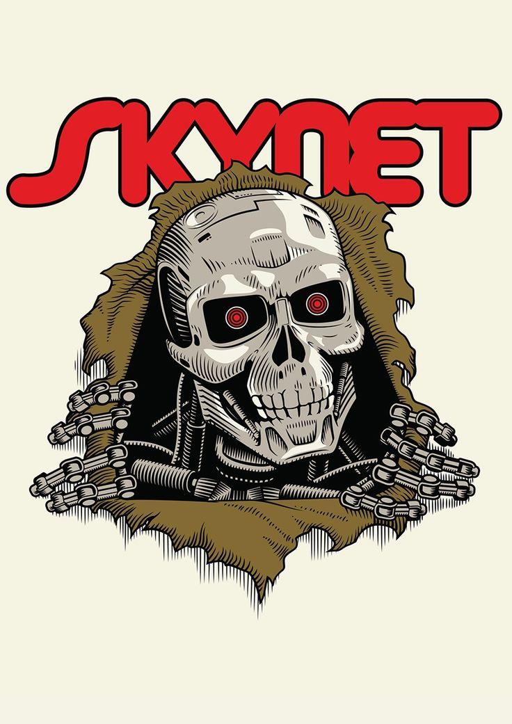 SKYNET = POWELL The Ripper + The Terminator -- by Nelson Nokela