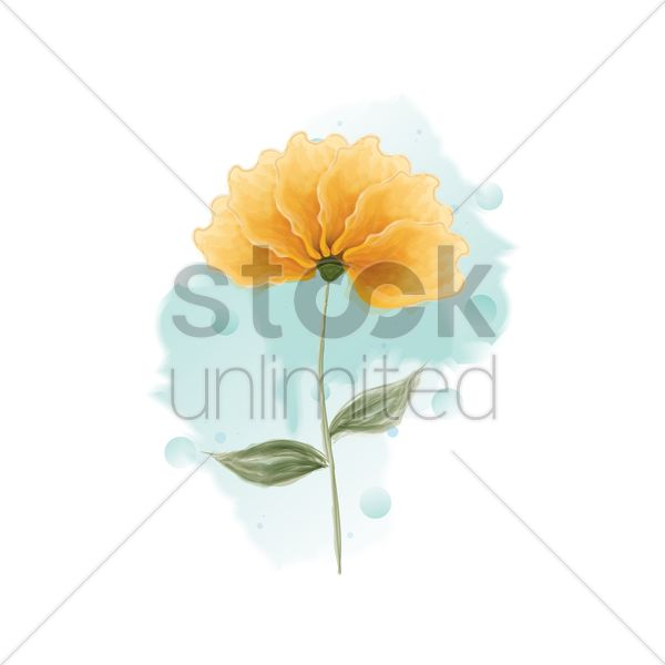 flower vector graphic