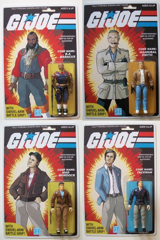 GI Joe The A Team: I love it when a plan comes together.