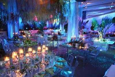 Under the sea design for a corporate event. Wish I could take credit for this gorgeousness!