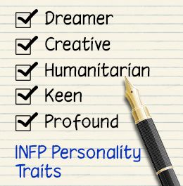 INFP personality traits