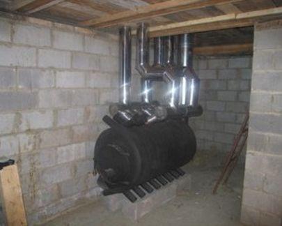 Любопытное решение: адаптация под совмещенное с вентиляцией воздушное отопление…