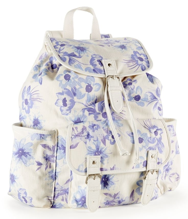 Twill Flowers Rucksack from Aéropostale
