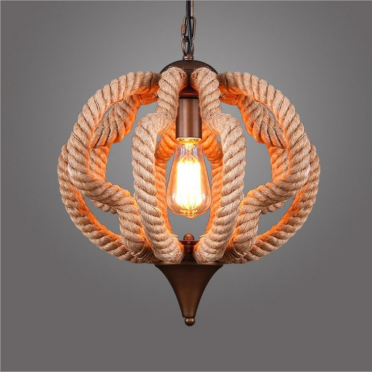696 best chandeliers images on pinterest ceiling lamps pendant therapy lamp suppliers american rural character designer lights nordic loft extreme simplicity hemp rope pumpkin retro rustic chandeliers lamp lighting mozeypictures Image collections