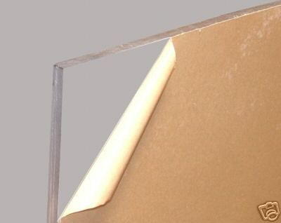 "Plexiglass source: Delvie's Plastics Inc.: 1-1/4"" Crystal Clear Cell Cast Acrylic Sheets"