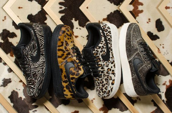 Get A Little Wild With The Nike Air Force 1 Low Animal Print Pack
