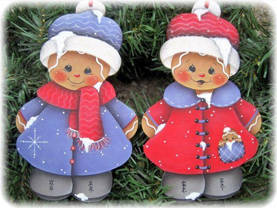 Pintura E-patrón de jengibres Nevado pan de por GingerbreadCuties