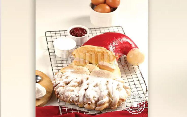 Santa Bread, Roti Unik yang Cocok Disantap Beramai-ramai Saat Natal