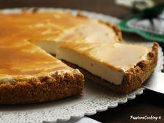Crostata panna Nutella e caramello senza cottura