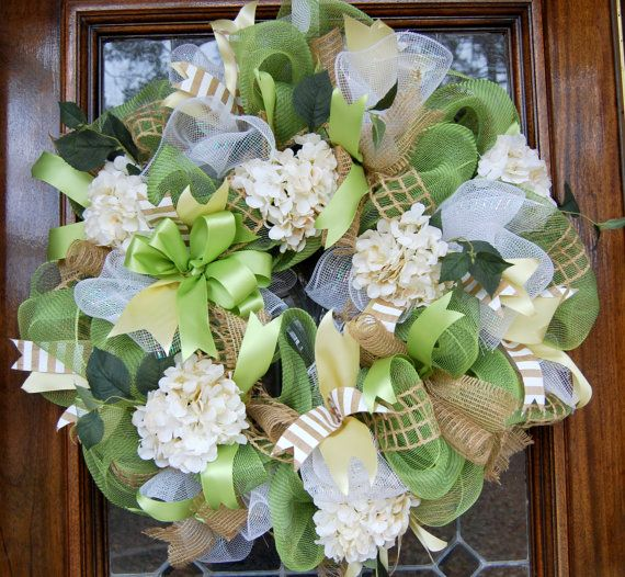 Beautiful Spring Wreath By Blingsasssparkle On Etsy 85