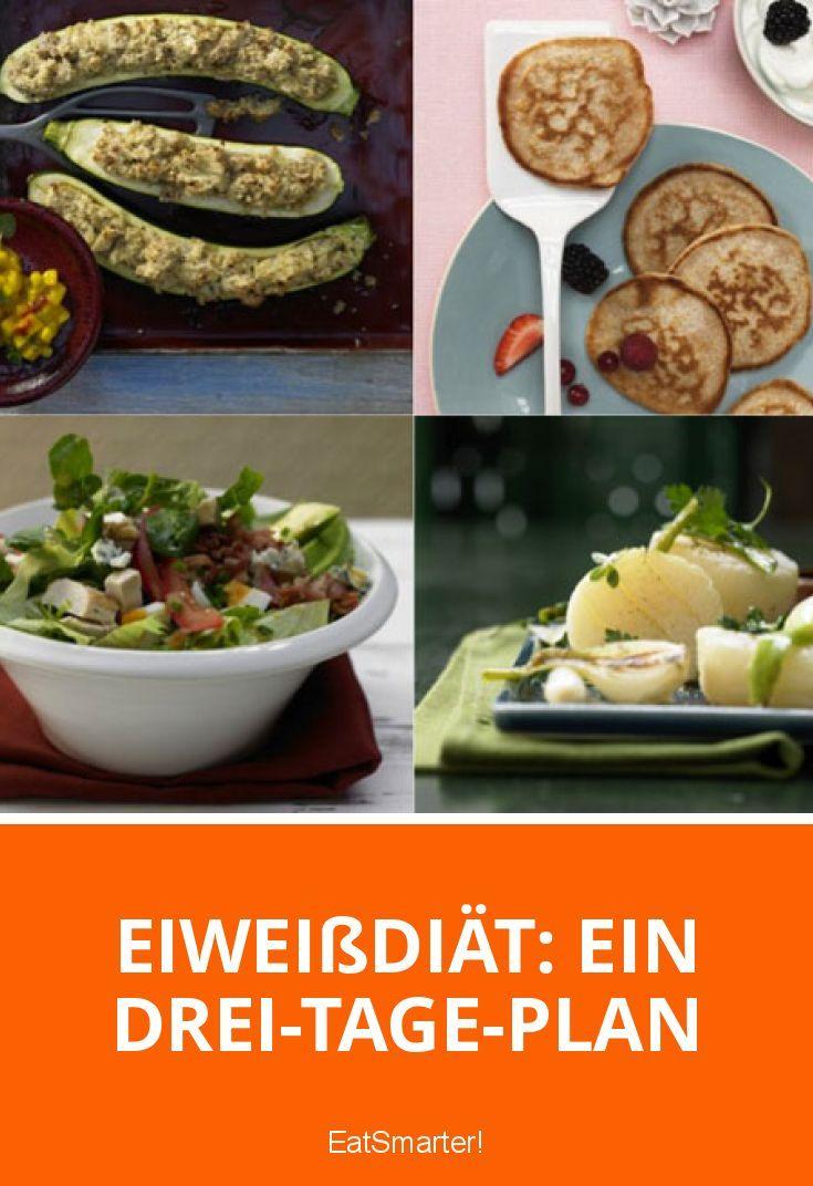 Eiweißdiät: Ein Drei-Tage-Plan   eatsmarter.de