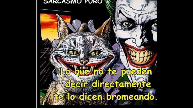 Señor Sarcasmo /sarcasmo demenino/ Frases de Sarcasmo/sarcasmo puro