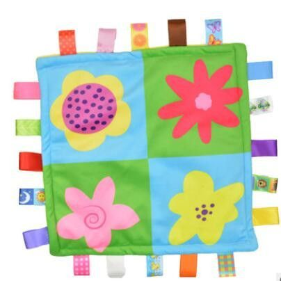 1pcs 30*30cm Baby appease towel Baby calm wipes baby towel