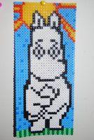 moomin hama beads by LobotomyByMia