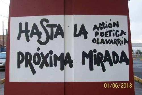 Hasta la próxima mirada | Libre Acción poética