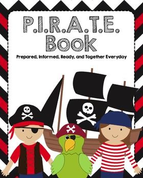 "Ahoy, mateys! Going for a Pirate theme this year? These ""pirate"" binders will be the perfect addition! Included in this zip file are the binder cover and 1.5 inch spine labels (pictured in the preview). There are a set of 25 of the labels. We hope you enjoy passing this onto your ""little treasures!""Please note:**You will need to be open zip files in order to open this product.**This product is sized for 1.5 inch binders."