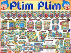 Party package, kit printable, kit editable, Clown Plim Plim, invitations, box printables, pennant party, party, decoration party, sweet Tags: http://kitspartyprintables.blogspot.mx/