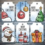 """<a href=""""https://www.freepik.com/free-vector/set-of-beautiful-labels-with-christmas-items_958920.htm"""">Designed by Freepik</a>"""