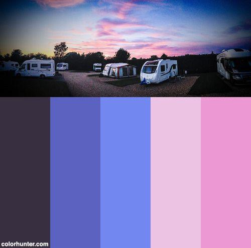 Enchanted Evening Color Scheme