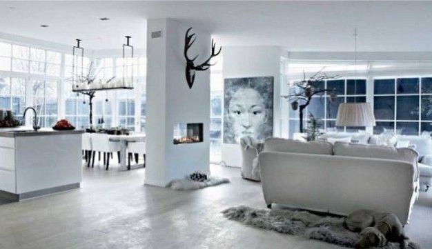Una casa scandinava decorata per il Natale - Magazine - Tempo Libero - quotidiano.net