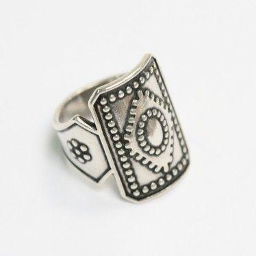 """Ilmajoki"" silver ring by Kalevala Koru, Finland"
