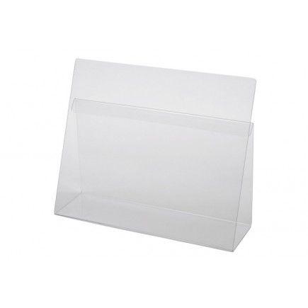 Le porte-livre de cuisine, en acrylique transparent est un support indispensable pour maintenir vos livres de recettes ouverts. Le lutrin de cuisine permet également de protéger vos livres de recettes grâce à sa matière en acrylique transparent.