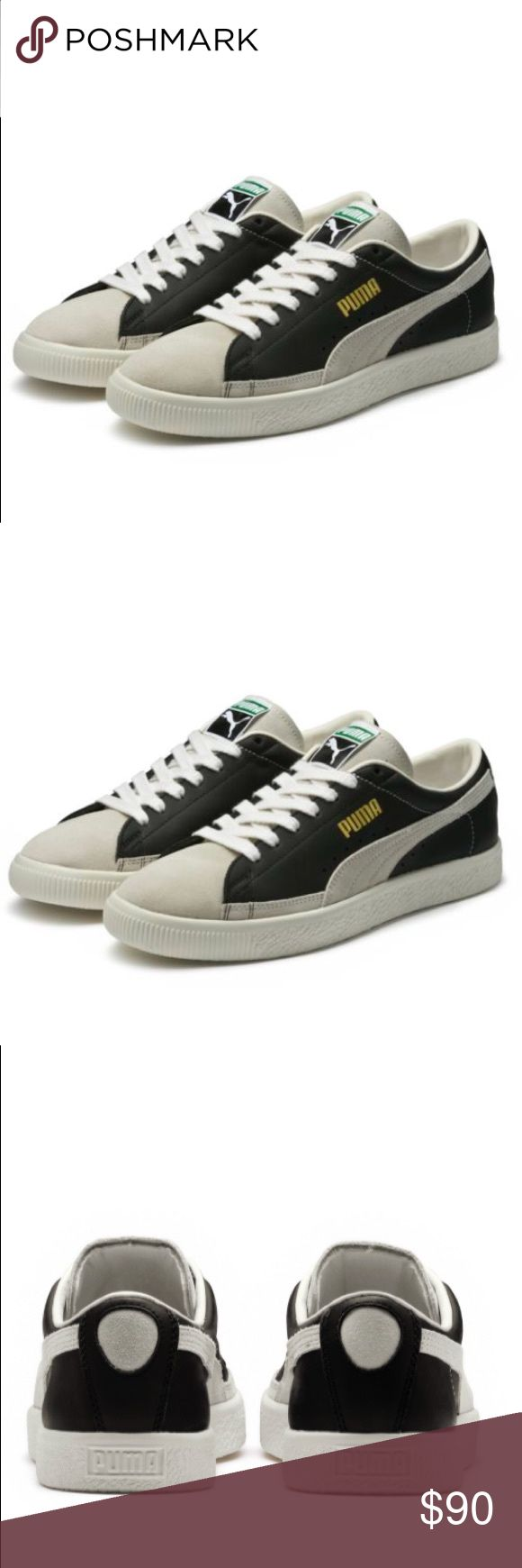 🎊BRAND NEW ! NEVER WORN! 🎉 Men's Brand New! never worn! Pumas Basket 90680  Purchased wrong size for a gift!  paid $95 Puma Shoes Sneakers