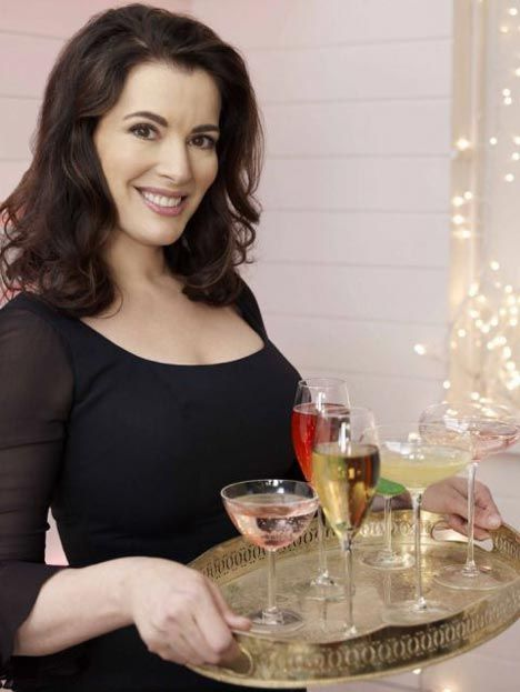 Nigella Lawson ~ drinks