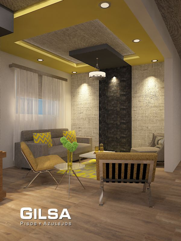 16 best living spaces images on pinterest contemporary - Muros de piedra natural ...