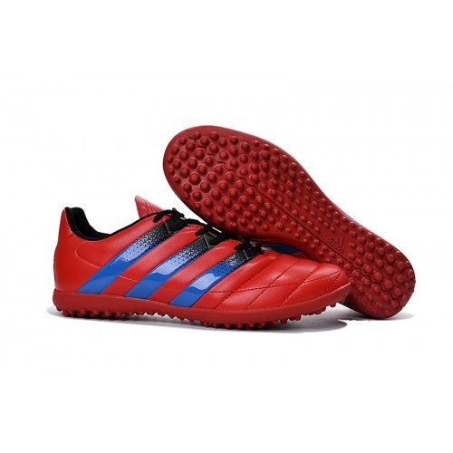 cheap Adidas ACE 16.3 TF Mens Football Boot Red Blue Black, Free Shipping!