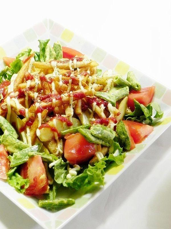 2種のフライドポテトサラダ by ひなちゅん | レシピサイト「Nadia ...