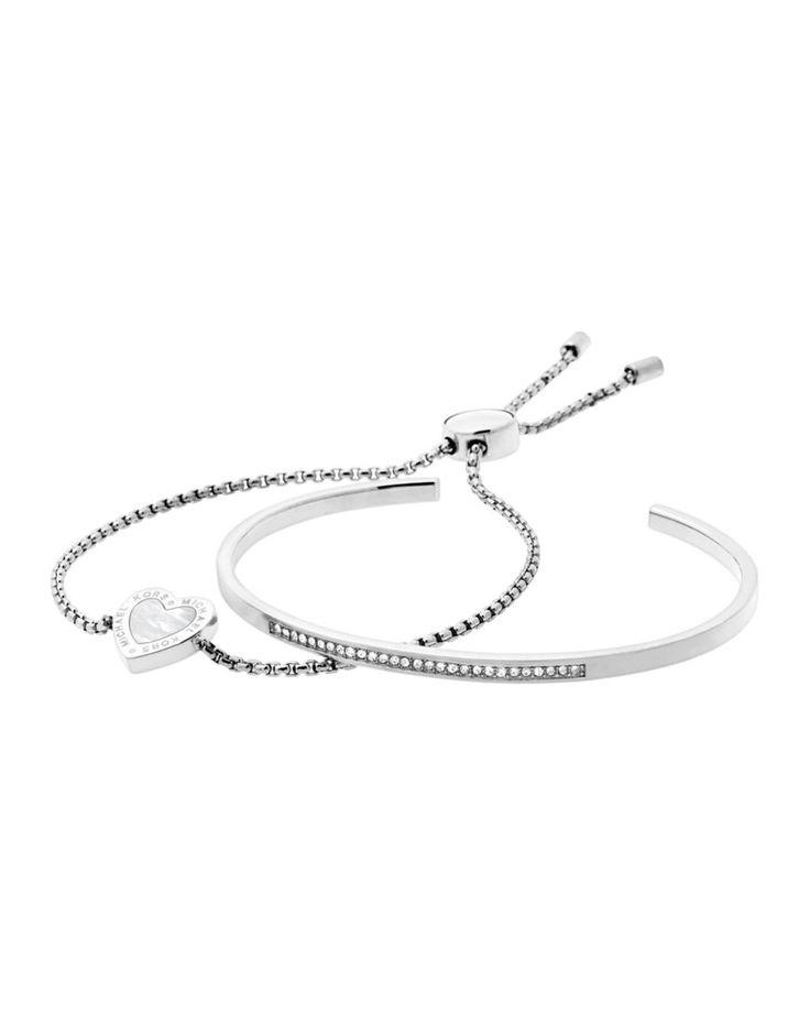 Michael Kors Slider Bracelet & Pavé Bangle Gift Set