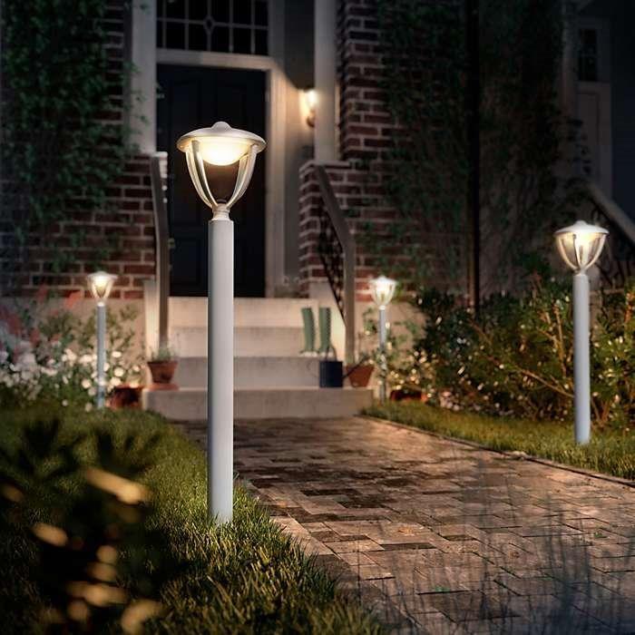 Philips myGarden Outdoor Latarnia Mała LED Robin 15473/31/16 : Oświetlenie zewnętrzne LED : Sklep internetowy Elektromag Lighting #outdoor #lighting #oświetlenie #ogród #lamp #garden