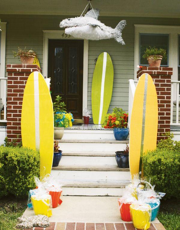Surf Shack Beach Birthday Party