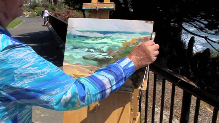 Paint Plein Air: The Ocean with Marge Kinney (+playlist)