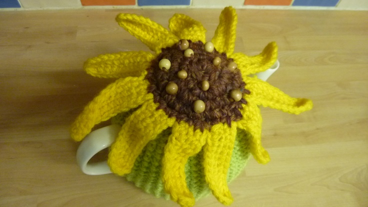 Sunflower - from above