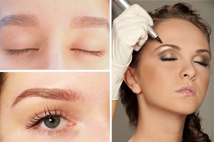 Le maquillage semi-permanent des sourcils #maquillage #semipermanent #sourcils