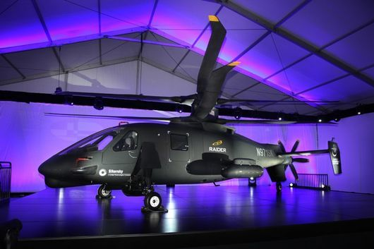 Sikorsky S-97 Raider spins up coaxial rotors on maiden flight
