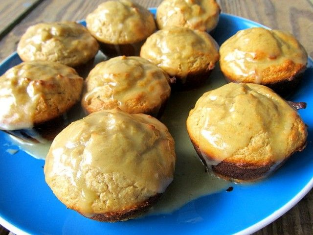 Lemon olive oil muffins. My friend Hannah made them and said they were amazing but to use good olive oil.