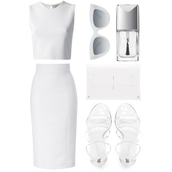 """Look 17 - Transparent Minimal"" by splashthestyle on Polyvore polyvore, fashion set, fashion, ootd, collage, minimal, outfit"