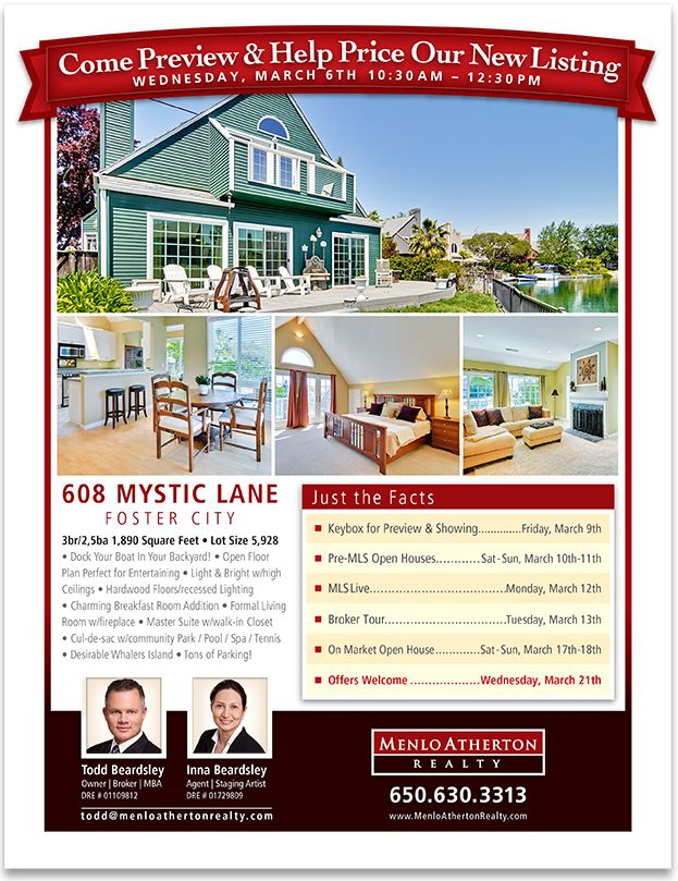 Real Estate Open House Flyer Kleobeachfixco - Broker open house flyer template