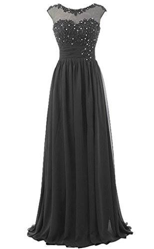 Shop https://goo.gl/j9GXD6   RohmBridal High Neck Lace Applique Chiffon Long Formal Evening Dress   Check Store Price https://goo.gl/j9GXD6  #Applique #Chiffon #Dress #Evening #Formal #High #Lace #Long #Neck #RohmBridal