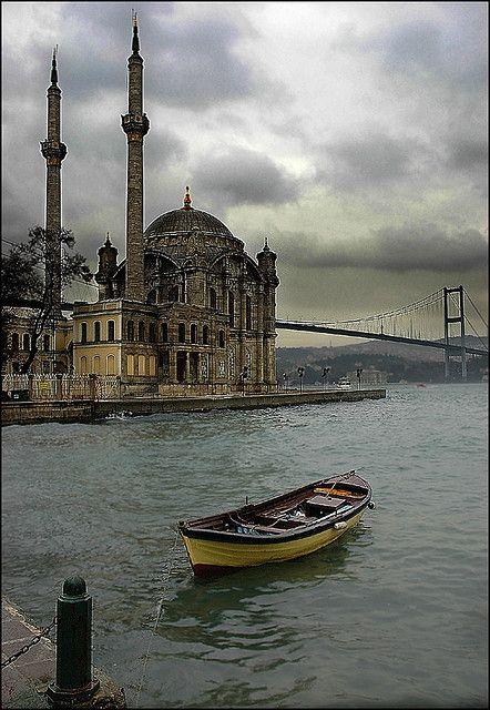 Bosphorus Strait . Istanbul