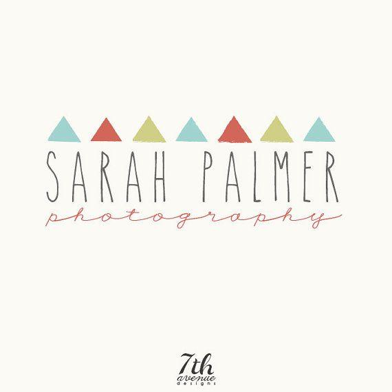 Custom Logo Design Premade OOAK Sarah Palmer by 7thavenuedesigns, $70.00